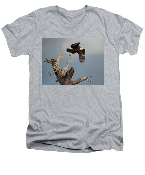 the Mighty Ozzie. Men's V-Neck T-Shirt