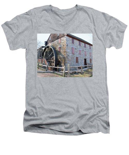 The Mill Men's V-Neck T-Shirt