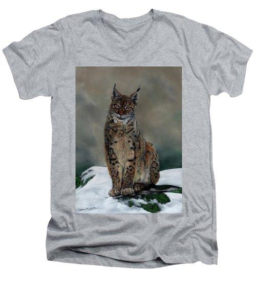 The Missing Lynx Men's V-Neck T-Shirt