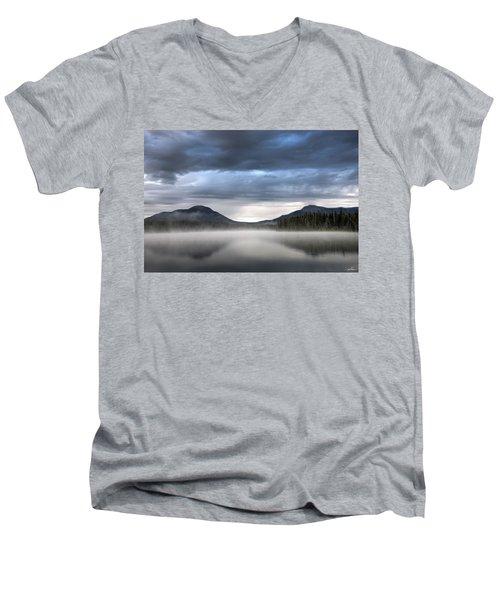 The Moods Of Fish Lake Men's V-Neck T-Shirt
