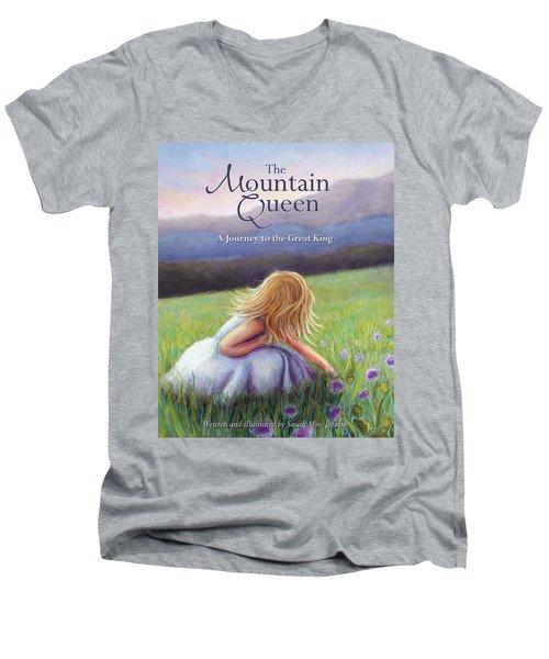The Mountain Queen Book Cover Men's V-Neck T-Shirt