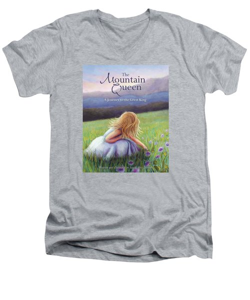 The Mountain Queen Book Cover Men's V-Neck T-Shirt