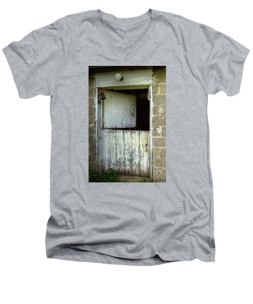 The Mr Ed Door Men's V-Neck T-Shirt