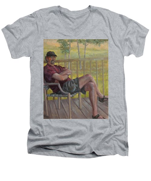 The Music Man Men's V-Neck T-Shirt