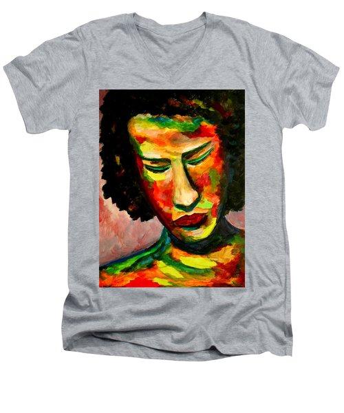 The Musician's Feelings Men's V-Neck T-Shirt
