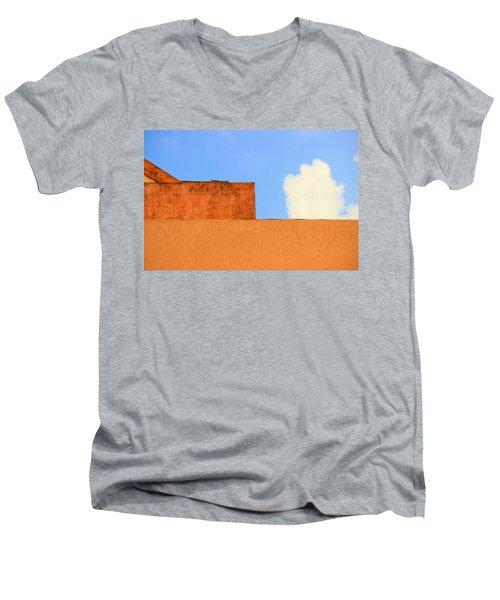 The Muted Cloud Men's V-Neck T-Shirt
