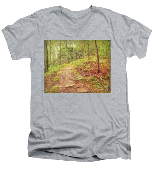 The Narrow Way Men's V-Neck T-Shirt