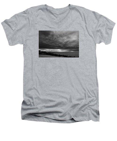 The Neptune Whitstable Men's V-Neck T-Shirt by David French