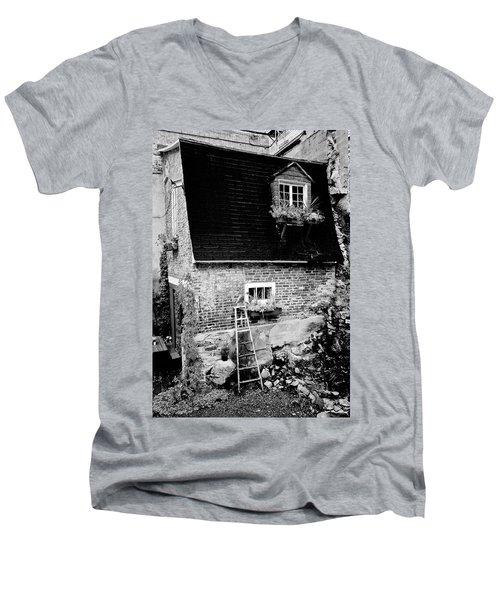 The Nest Men's V-Neck T-Shirt