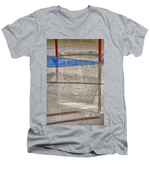 The Net Reflection Men's V-Neck T-Shirt
