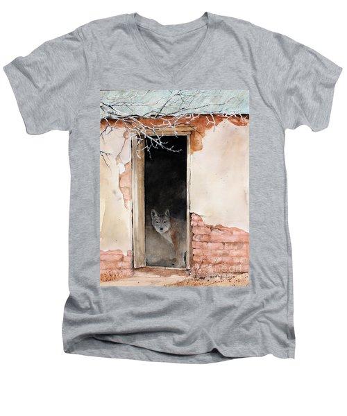 The New Tenent Men's V-Neck T-Shirt
