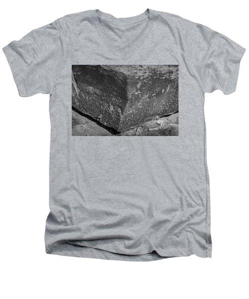 The News Men's V-Neck T-Shirt