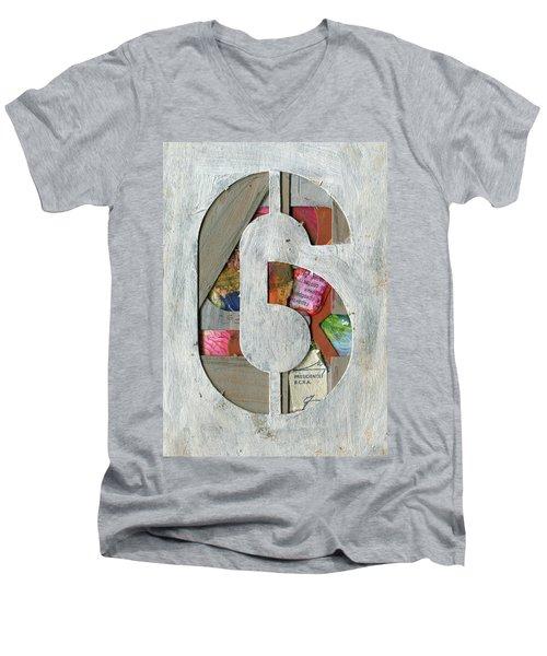 The Number 6 Men's V-Neck T-Shirt