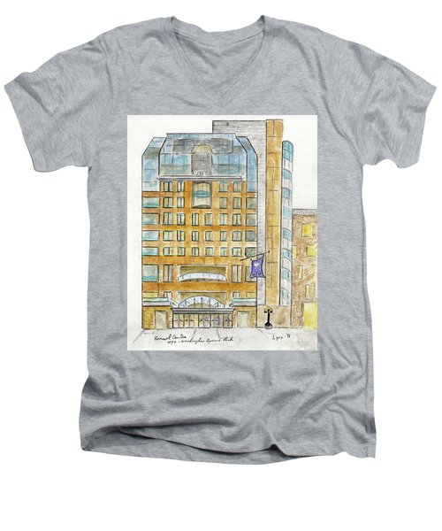 The Nyu Kimmel Student Center Men's V-Neck T-Shirt