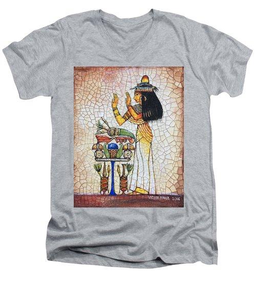 The Offering Men's V-Neck T-Shirt