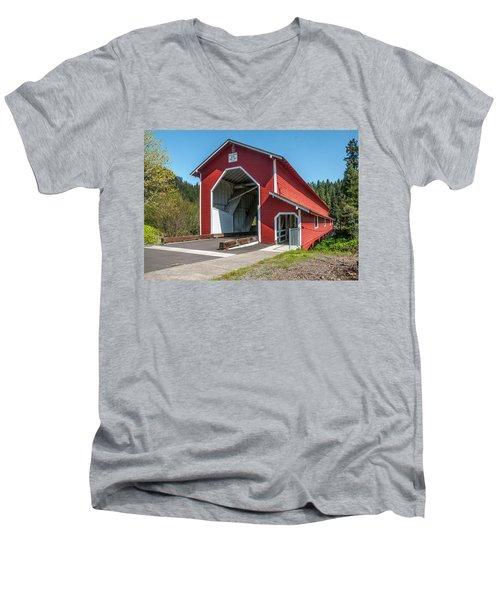 The Office Bridge Men's V-Neck T-Shirt