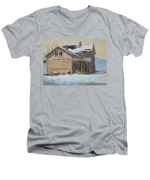 the Old Farm House Men's V-Neck T-Shirt