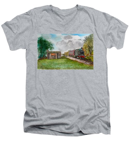 The Old Forsaken Shack Men's V-Neck T-Shirt