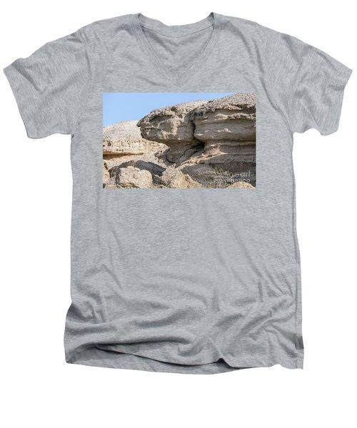 The Old Gatekeeper Men's V-Neck T-Shirt by Arik Baltinester