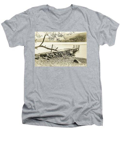 The Old Jetty Men's V-Neck T-Shirt
