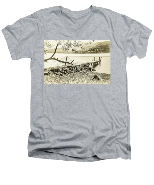 The Old Jetty Men's V-Neck T-Shirt