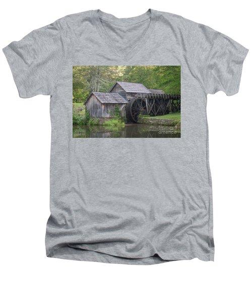 The Old Mill Men's V-Neck T-Shirt