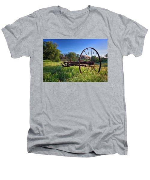 The Old Mower 2 Men's V-Neck T-Shirt