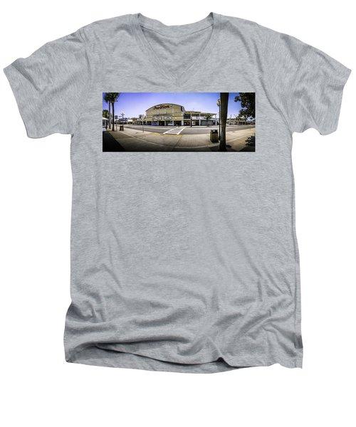 The Old Myrtle Beach Pavilion Men's V-Neck T-Shirt