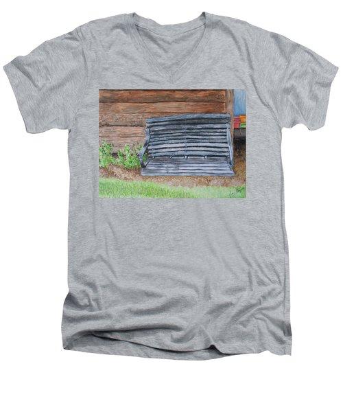 The Old Porch Swing Men's V-Neck T-Shirt