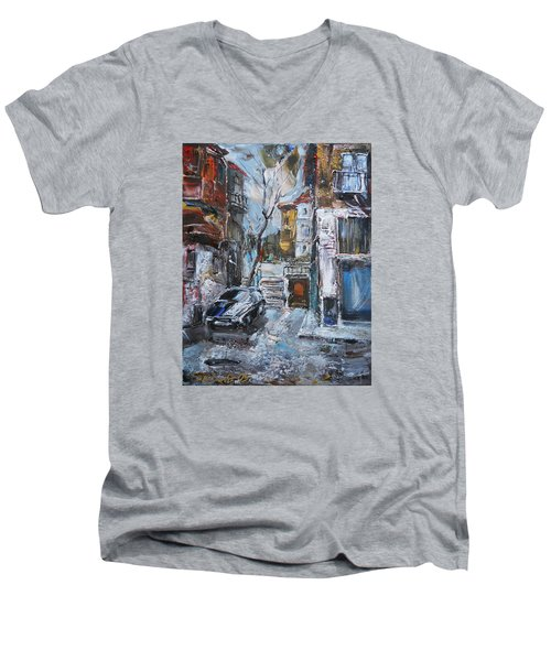 The Old Quarter Men's V-Neck T-Shirt