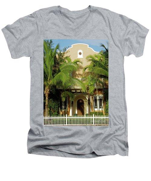 The Old Sunset House. Men's V-Neck T-Shirt
