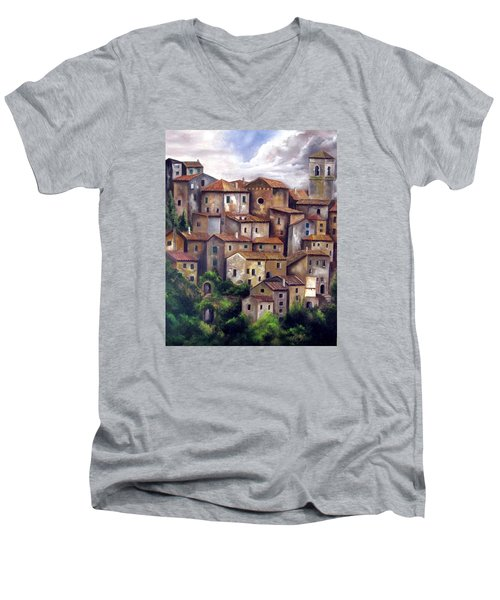 The Old Village Men's V-Neck T-Shirt