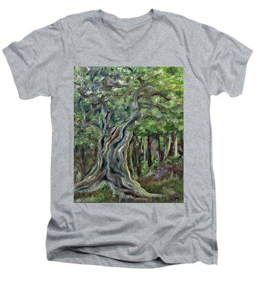 The Om Tree Men's V-Neck T-Shirt
