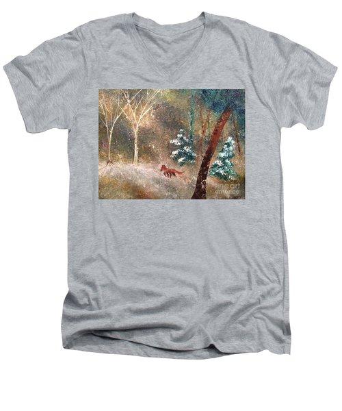 The Onion Snow Men's V-Neck T-Shirt