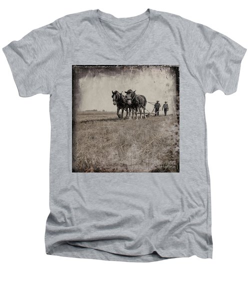 The Original Horsepower Men's V-Neck T-Shirt