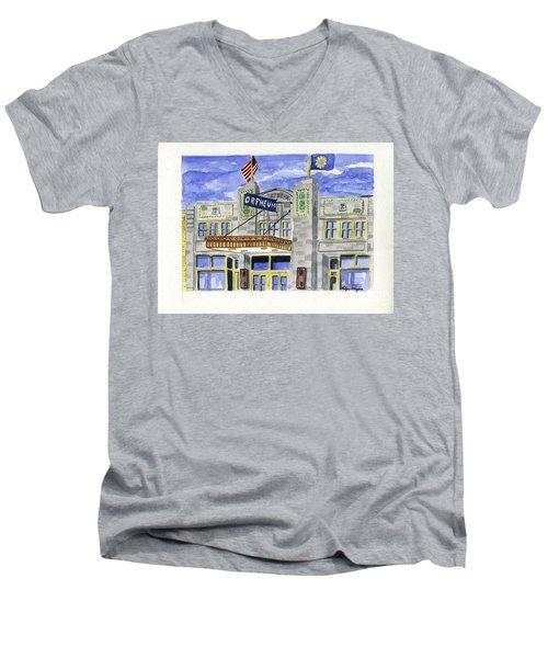 The Orpheum Men's V-Neck T-Shirt