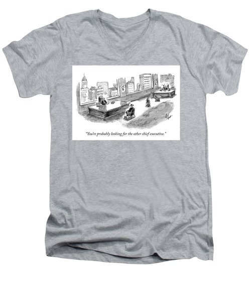 The Other Chief Executive Men's V-Neck T-Shirt