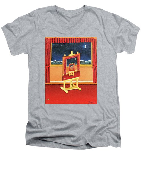 The Paintings Within Men's V-Neck T-Shirt