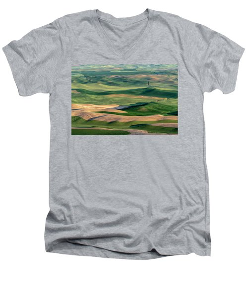 The Palouse Men's V-Neck T-Shirt