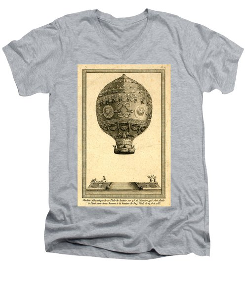 The Paris Ascent 2 Men's V-Neck T-Shirt
