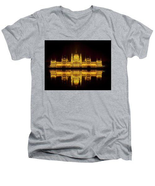 The Parliament House Men's V-Neck T-Shirt