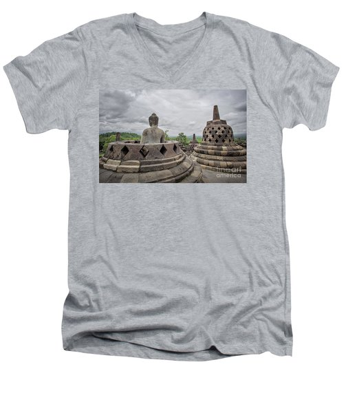 The Path Of The Buddha #5 Men's V-Neck T-Shirt