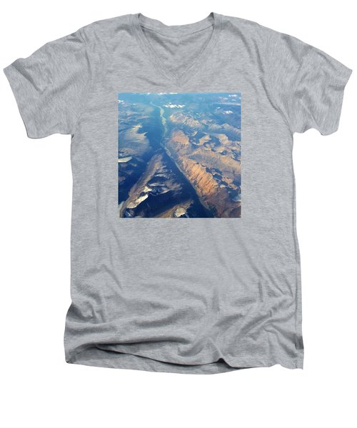 The Path Through Men's V-Neck T-Shirt