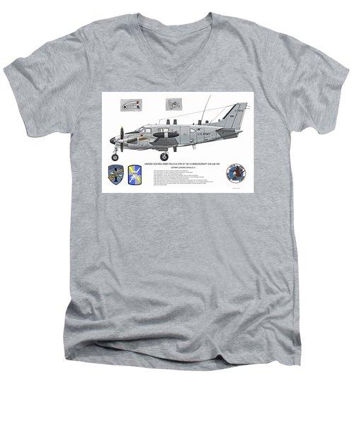 The Patriot Profile Men's V-Neck T-Shirt