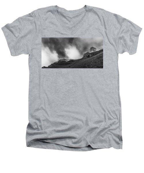 The Peak Tree Men's V-Neck T-Shirt