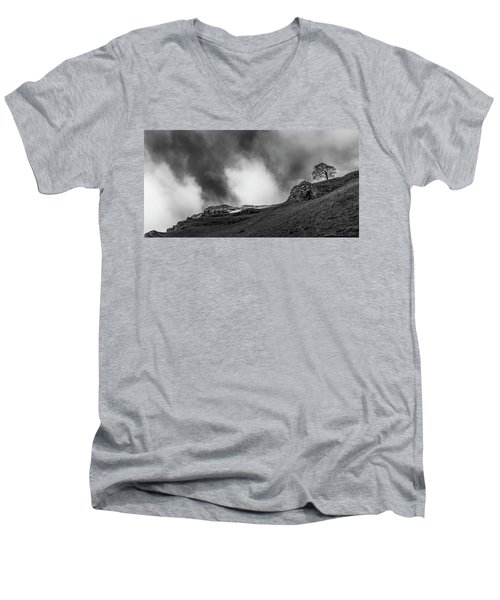 The Peak Tree Men's V-Neck T-Shirt
