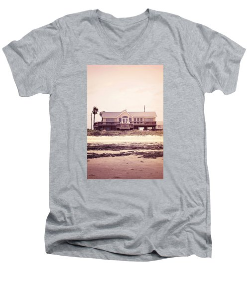Men's V-Neck T-Shirt featuring the photograph The Perfect Summer by Trish Mistric