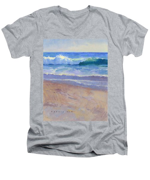 The Healing Pacific Men's V-Neck T-Shirt