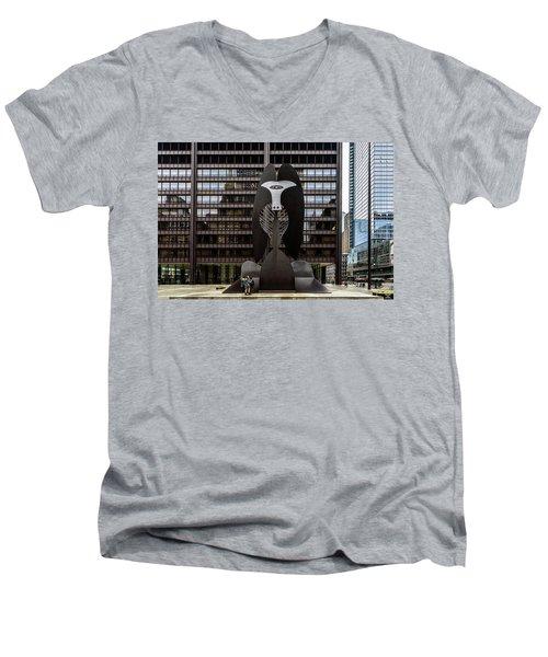 The Picasso Men's V-Neck T-Shirt