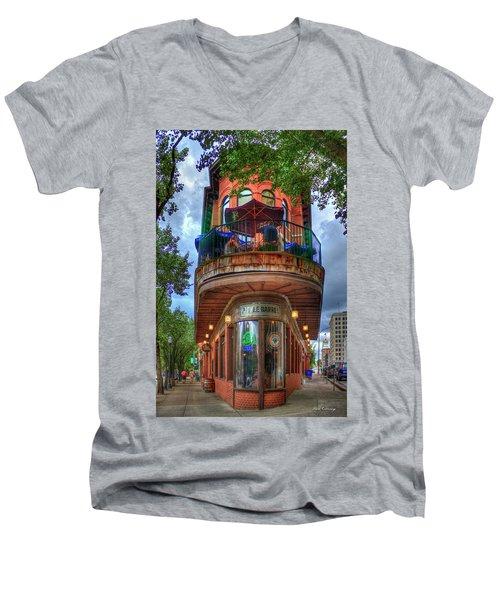 The Pickle Barrel Chattanooga Tn Men's V-Neck T-Shirt by Reid Callaway